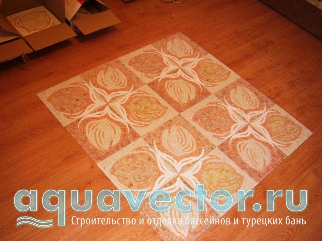 Раскладка на полу