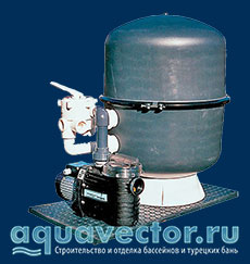 Фильтр для бассейна Saphir
