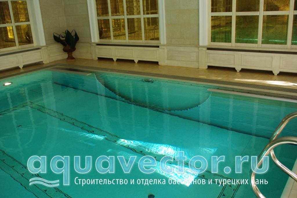 Вода в бассейне по качеству приравнивается к питьевой