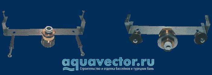 Крепежный комплект для накладных прожекторов