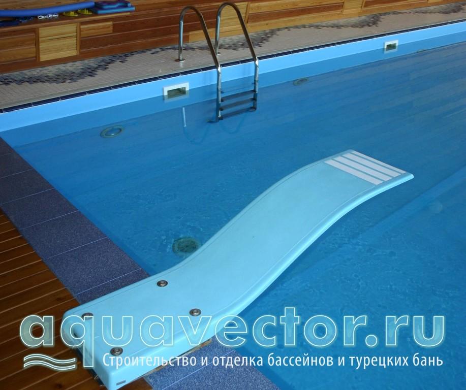 Доска для прыжков в бассейне