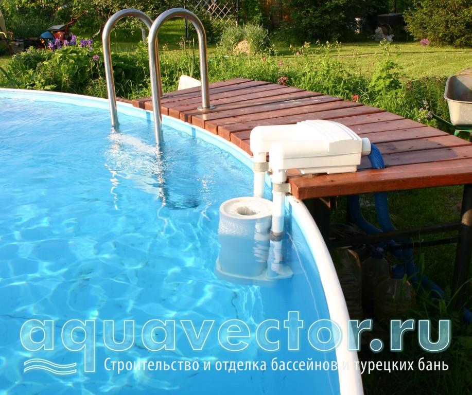 Готовность бассейна за один день