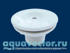 Форсунка из пластика для плёночного и плиточного бассейна