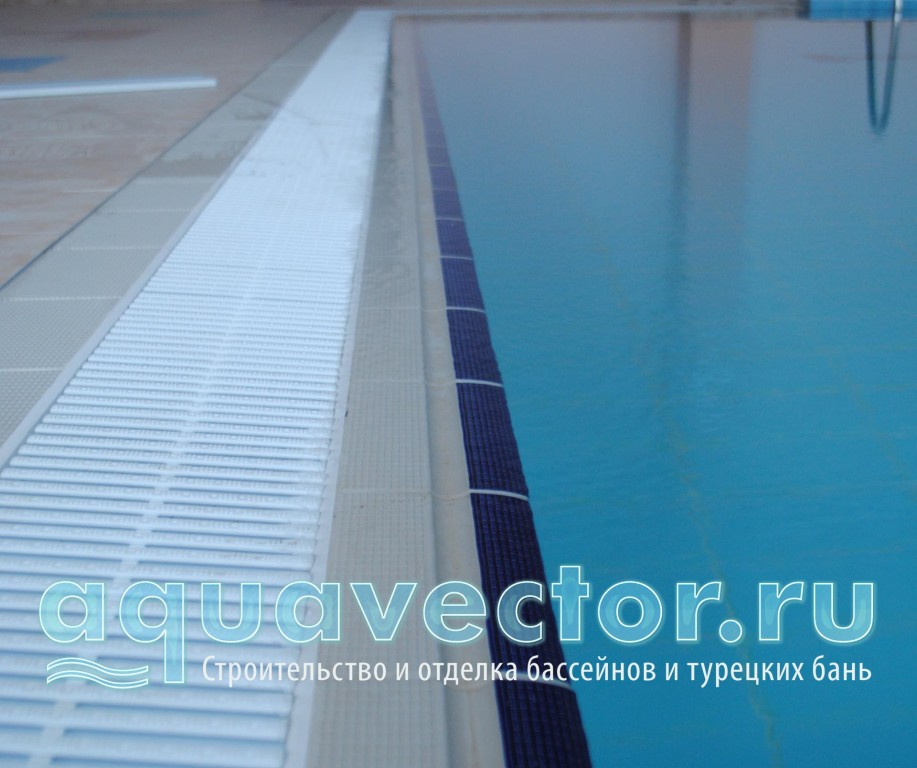 Олимпийский переливной плиточный бассейн в г.Истра