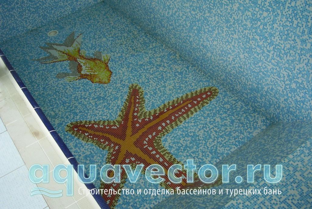 Панно Морская звезда и Золотая рыбка