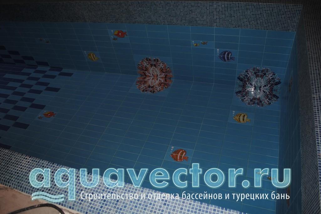 Декор в бассейне