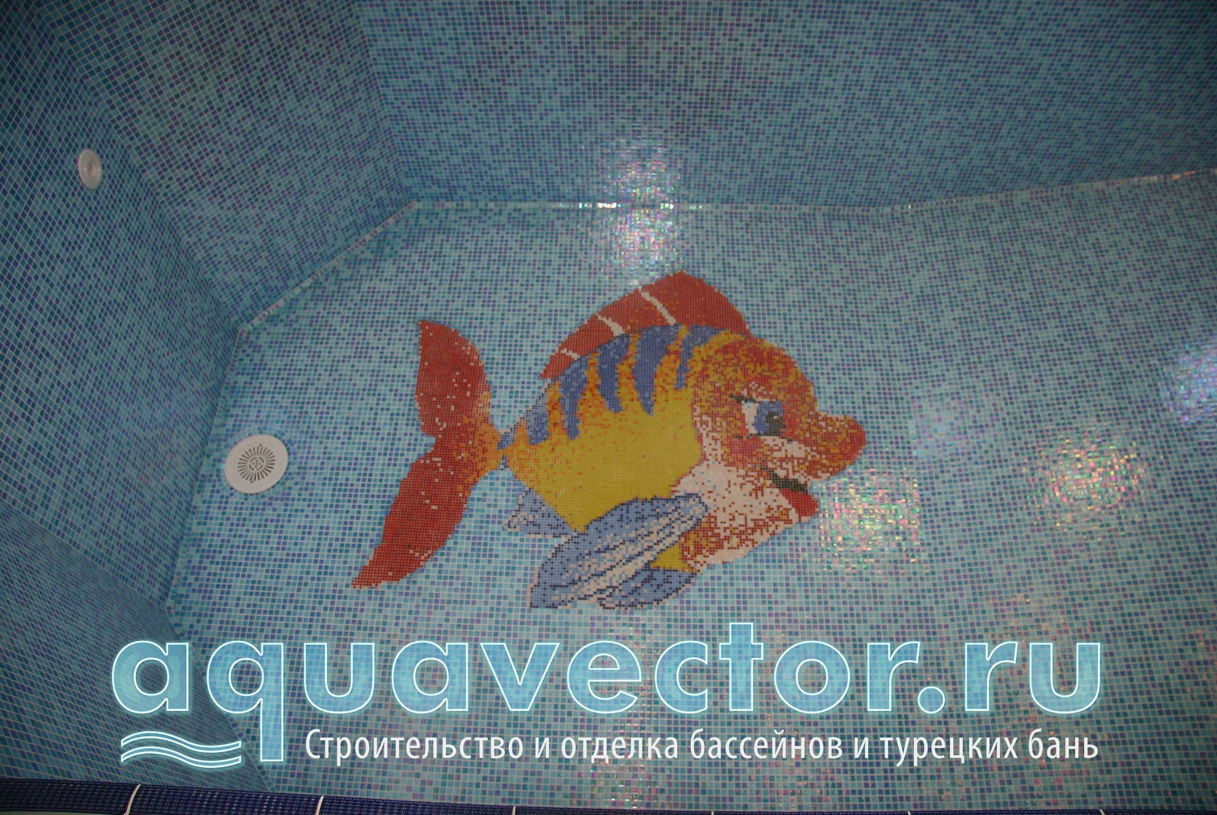 Панно Рыбка в детском стиле
