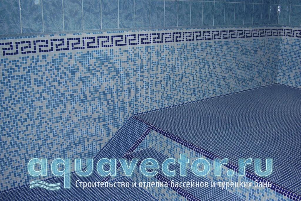 Двухуровневый скимерный бассейн