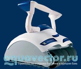 Робот-пылесос для бассейна Aquatron robotic sistem LTD MaxiMus x 90 (Израиль)
