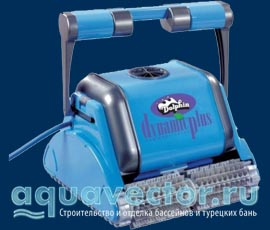 Робот-пылесос для бассейна Дельфин Dynamic Plus (Израиль)