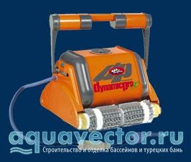 Робот-пылесос для бассейна Дельфин Dynamic Pro (Израиль)