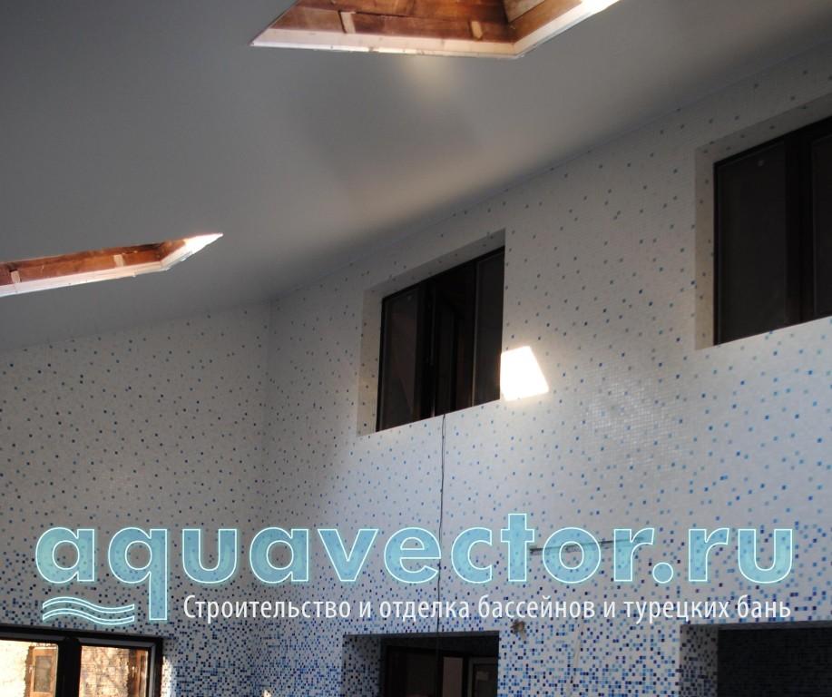 Натяжной потолок с окнами дистанционного открывания