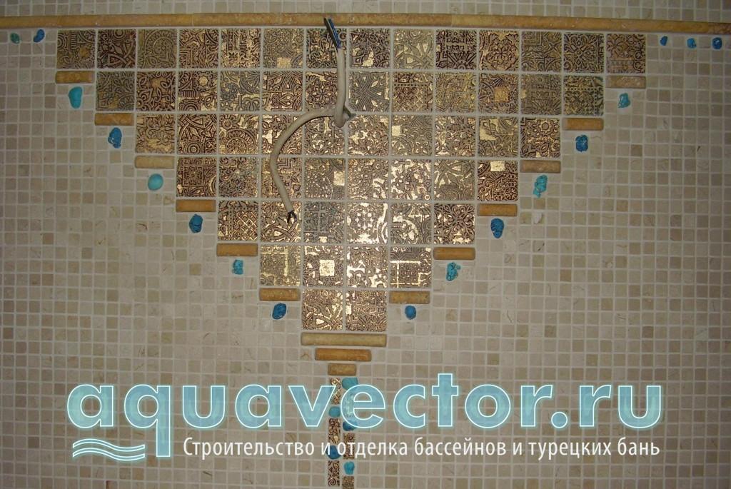Хамам выложенный декоративной мозаикой