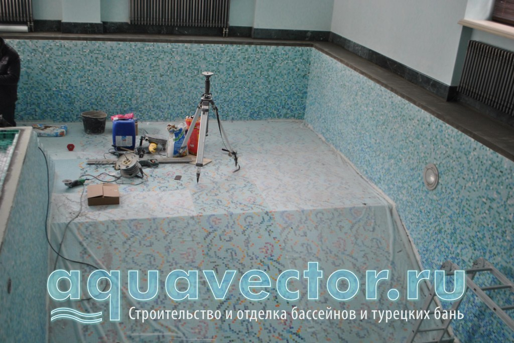 Следующим этапом выполняется гидроизоляция
