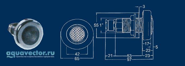 Прожектор галогенный АС 1006021