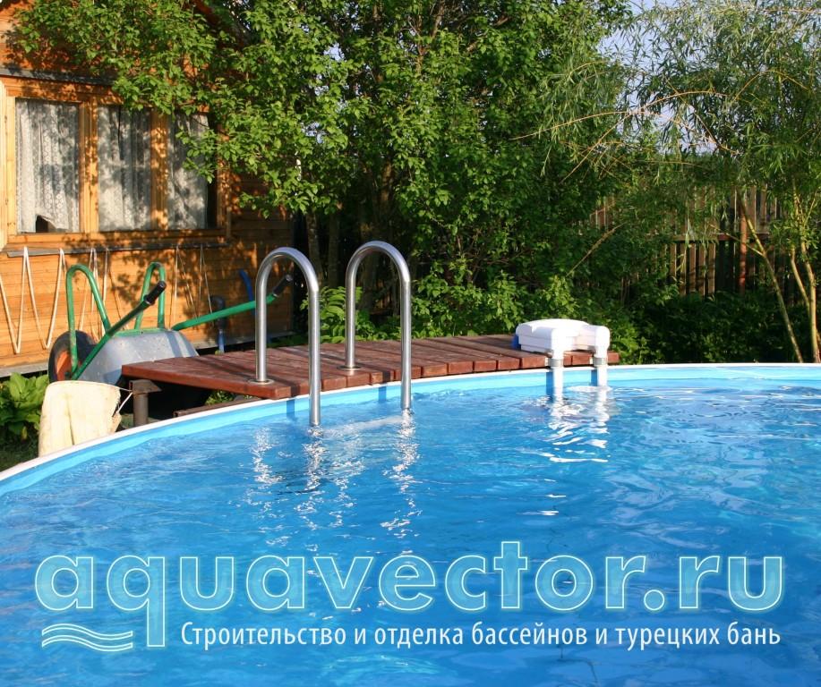 Недорогая альтернатива бассейна для садового участка
