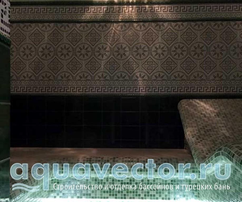 Эксклюзивный орнамент в турецкой бане