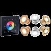 Светильники в хамам RGB