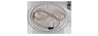 Изгибаемая светодиодная лента термостойкая Termo LED LUX