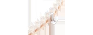 Изгибаемая светодиодная лента бокового свечения ДИП LED LUX