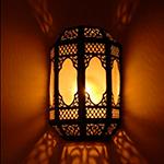 Светильник в хамам арт 10