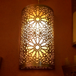 Светильник в хамам арт 126