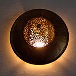 Светильник в хамам арт 15