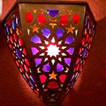 Светильник в хамам арт JASMIN