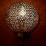 Марокканский светильник BOULE
