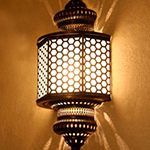 Светильник в хамам арт W-172BG