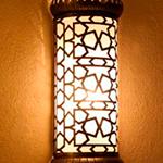 Светильник в хамам арт W-140A
