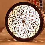 Светильник в хамам арт H-122-45D