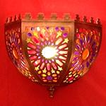 Светильник в хамам арт FLEURE