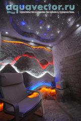 Соляная комната угол