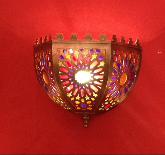 Марокканский светильник арт.071