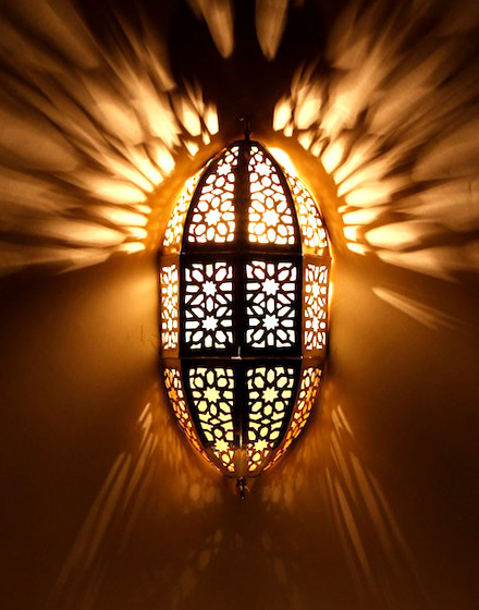 Светильник для хамама арт.151