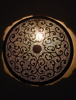 Светильник для хамама арт.161