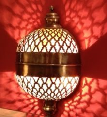 Светильник в хамам арт.49