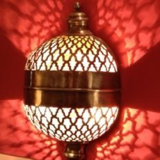 Cветильник для хамама арт.49