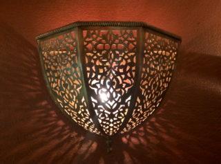 Светильник в хамам арт.52