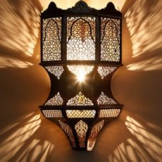 Марокканский светильник арт. Butterfly