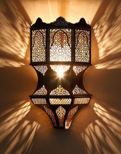 Марокканский светильник 165 Butterfly