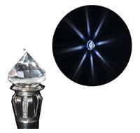 Хрустальный рассеиватель HR16LED светодиодный