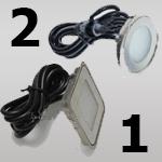 Светильник встраиваемый Питание 12V