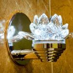 Дизайнерский, оригинальный, встраиваемый светильник Премьер Лотос