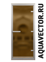Двери Doorwood бронза матовое черный сатин