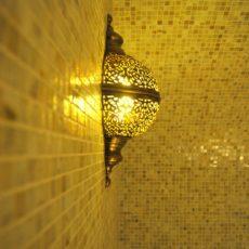 Марокканские светильники в хамам