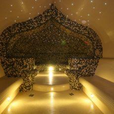 Светодиодные светильники в хамам