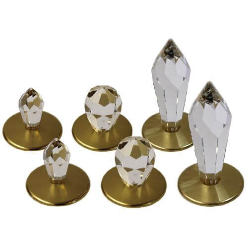Набор хрустальных насадок Crystal Kit Swarovski Strass золото