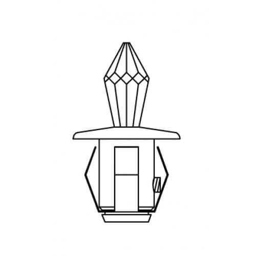 Набор хрустальных насадок Crystal Kit Swarovski Strass схема кристалла